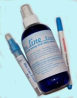 Blue Line Eraser Kit - QuiltedJoy.com