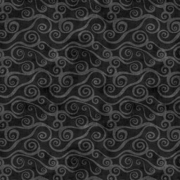 This tonal cotton print fabric is perfect for quilting, apparel, and home decor accents. This black fabric would be at home on the back of a teen quilt. Available at QuiltedJoy.com