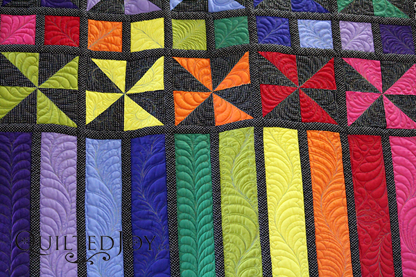 Don't let feathers intimidate you. Learn a variety of feathers on longarm quilting machines from instructor Angela Huffman in this hands on class.