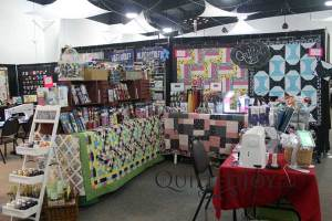 Quilted Joy's booth at Quilt Show
