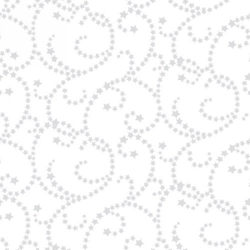 "Americana Swirl 108"" - White/Multi"