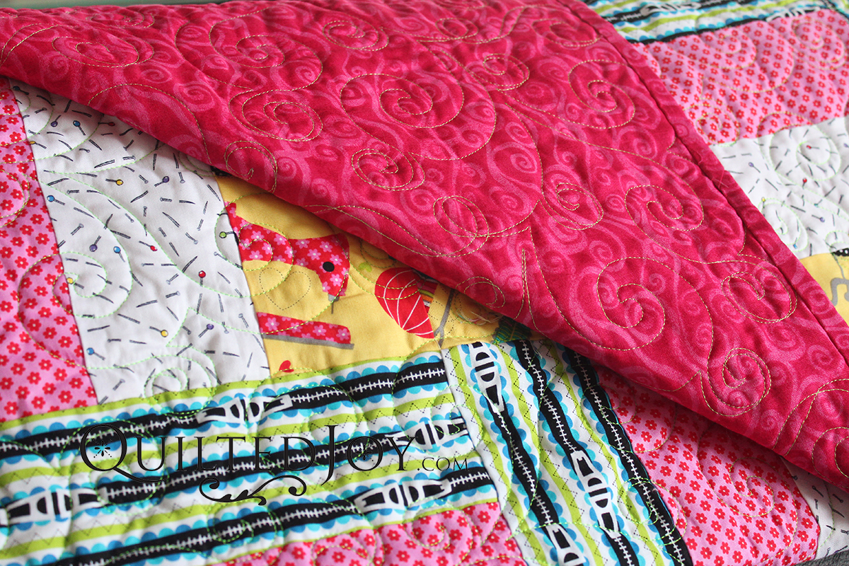 Beginner's Guide to Machine Quilting: Choosing the Right Backing ... : backing material for quilts - Adamdwight.com