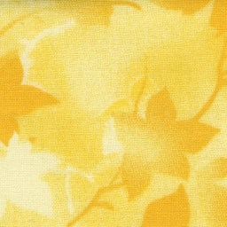 "118"" Wide Ivy Tonal quilt back fabric in Yellow"
