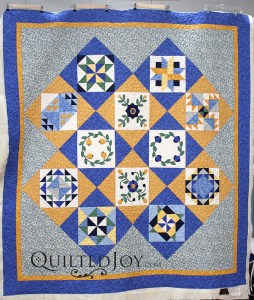 Applique Block of the Month Quilt