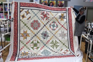 Lynn's For Keeps Quilt, quilted at Quilted Joy