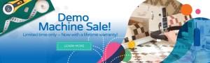 APQS Demo Sale