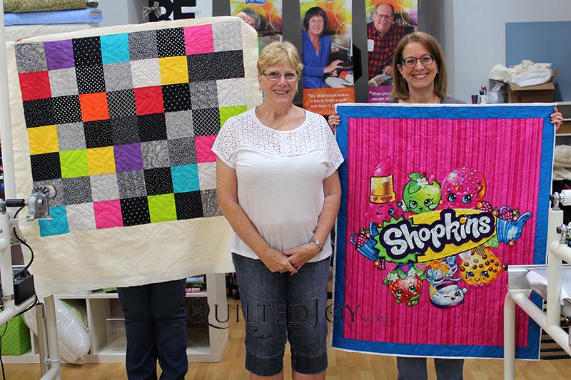 Shopkins Panel Quilt Rental Certification