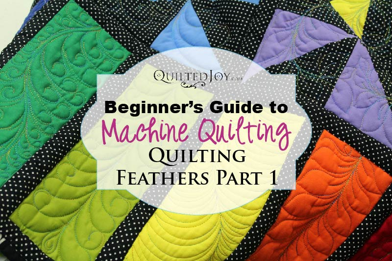 How to Quilt Feathers