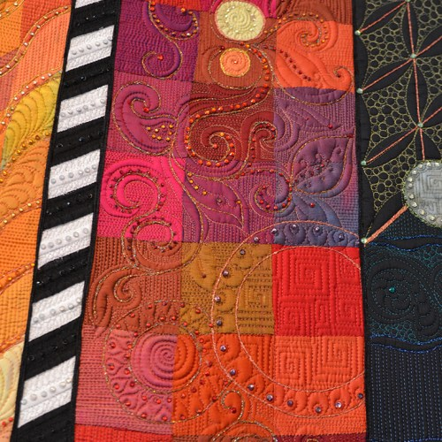 (P)Freemotion (P)Florals, a quilting class taught by Claudia Pfeil