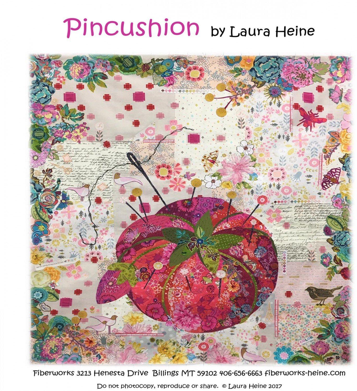 Pincushion Collage Pattern