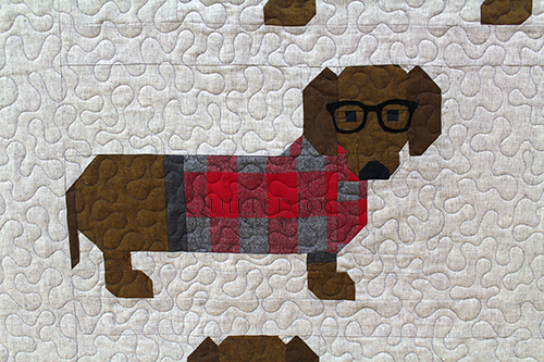 Karen's Dogs in Sweaters Quilt