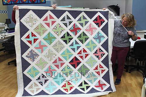 Rhonda's Nautical Pinwheels Quilt