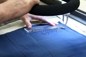 Longarm Quilting with Templates