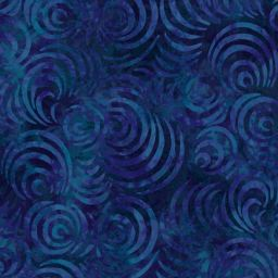 Whirlpools Dark Blue by Wilmington Batiks. 1054-2083-449, 745181401009. Available at Quilted Joy.com.