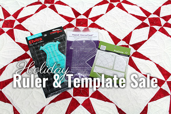 Holiday Ruler Sale at Quilted Joy