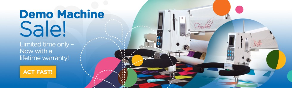 APQS Longarm Machine Demo Machine Sale!