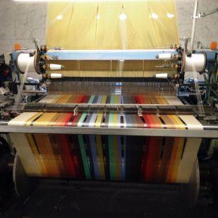 Folkore warp thread ready to weave.