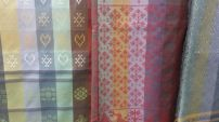 Close-up of Folklore Fabrics