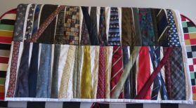 Tie, quilt, commission