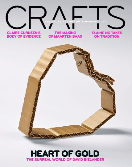 Front cover Mar&Apr Crafts Magazine 2017