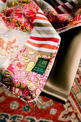 The Original Summery patchwork quilt - detail