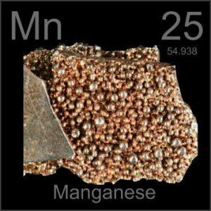 Manganeso elemento químico