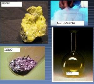 no metales químicos
