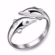 anillo de plata con recubrimiento de rodio