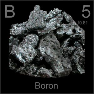 elemento químico boro