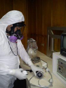 investigación científica laboratorio