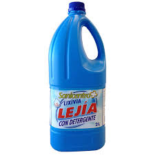 lejía cloro hipoclorito de sodio