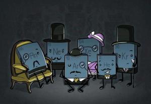 gases nobles humor químico