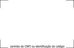 carimbo CNPJ