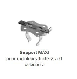 supports tablette radiateur maxi la paire