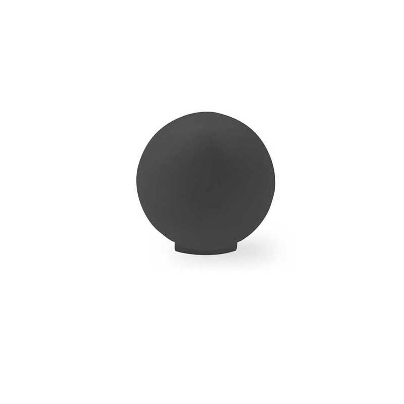 bouton de resine noir mat 3416