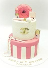 chanel cake 2