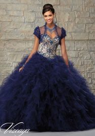 navy quinceanera dress1