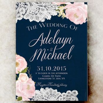 pink navy invitation 2