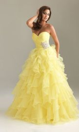 yellow quince dress