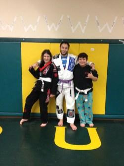 Quincy Brazilian Jiu Jitsu Medalists Briana & Trytan