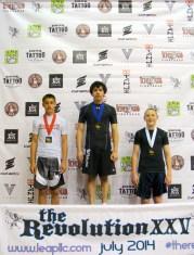Isaac Haley of Quincy Brazilian Jiu-Jitsu in Grant County, WA