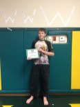 Congratulations to Ethan finishing Bully Camp