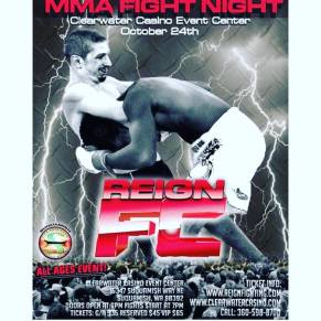 MMA Fight Night Poster