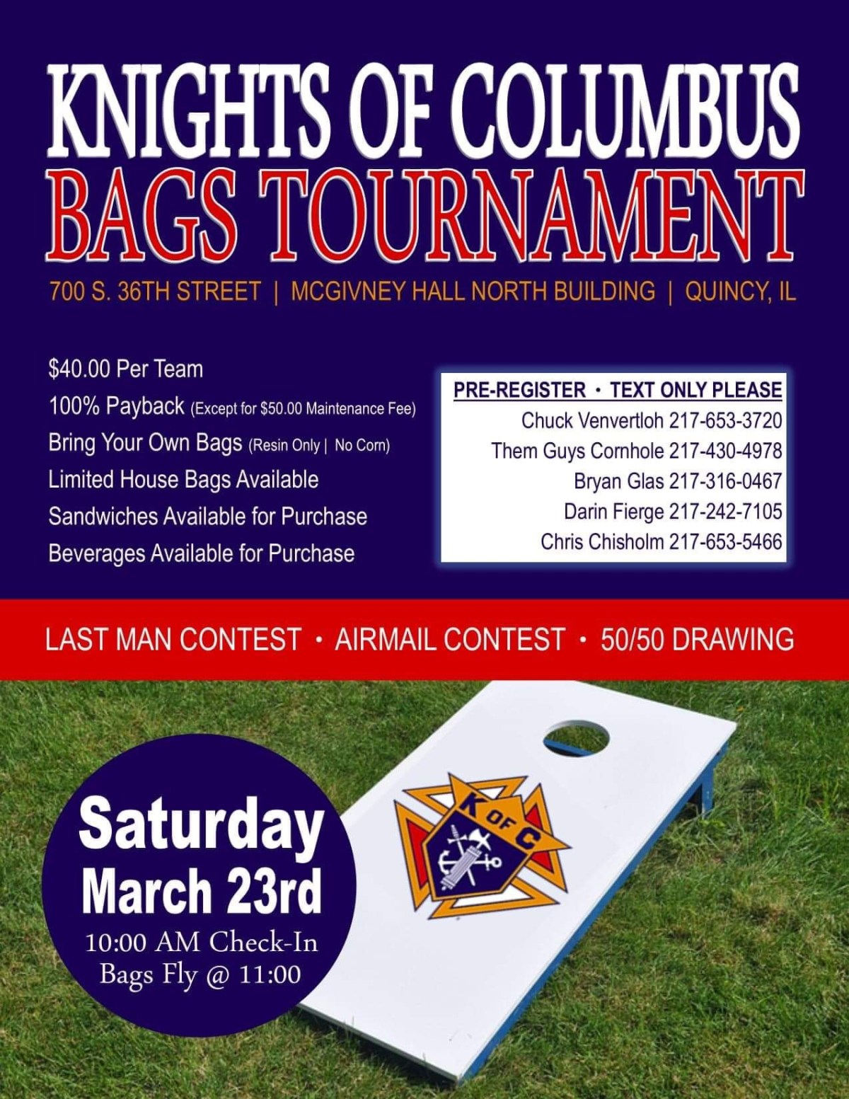 Bags Tournament