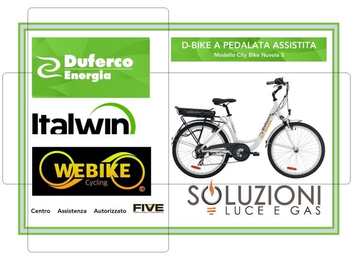 BIKE pedalata assistita  – comprala al costo di un caffè al giorno
