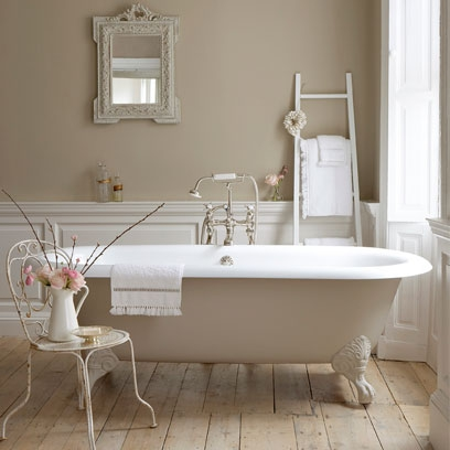 Painting Bathrooms - Peace and Beauty - quinju.com