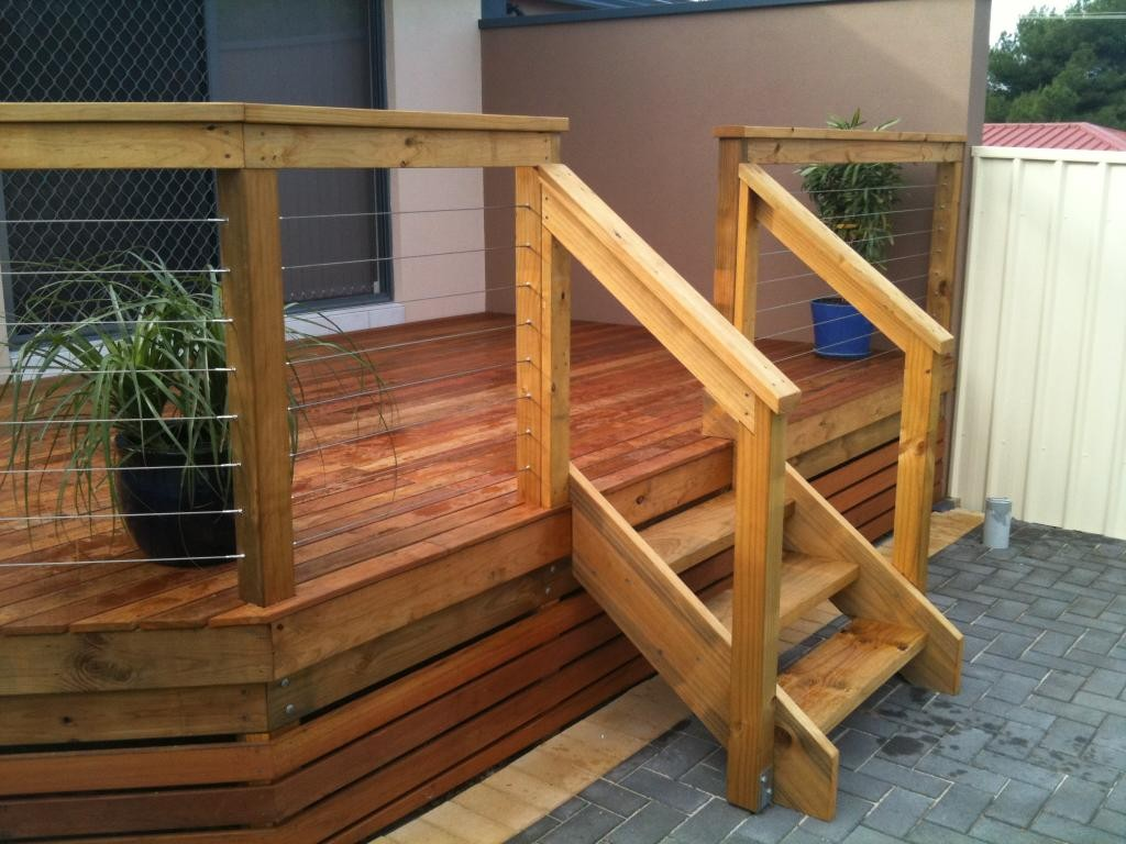 outdoor deck stairs to finish your project