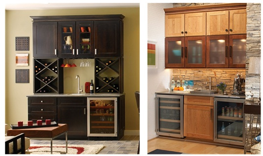 Kitchen Cabinets - Liquor Storage - quinju.com