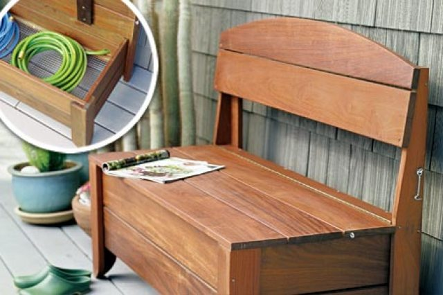 outdoor - storage bench - quinju.com
