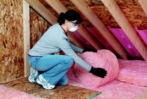 attic insulation / batts / quinju.com